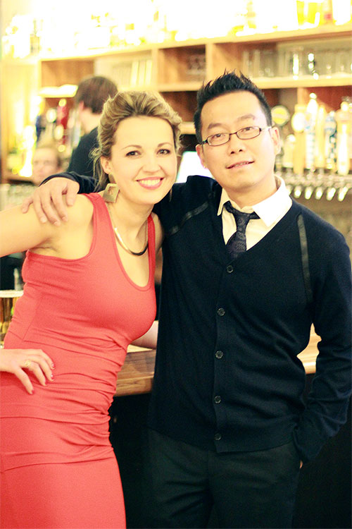 Co-Owners Tanya Zhykharevich and Jack Yip