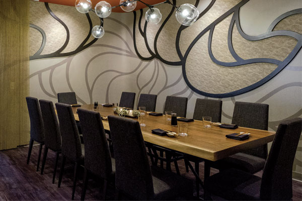 Semi-Private Dining Room