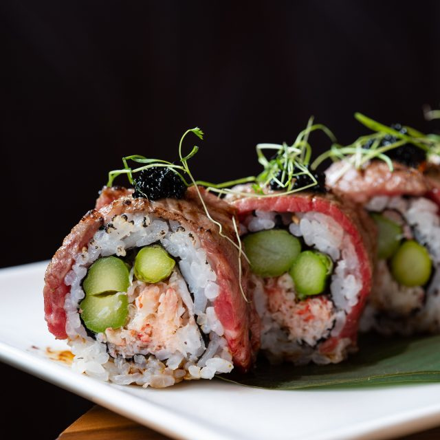 RED Winter Seasonal Sushi Roll