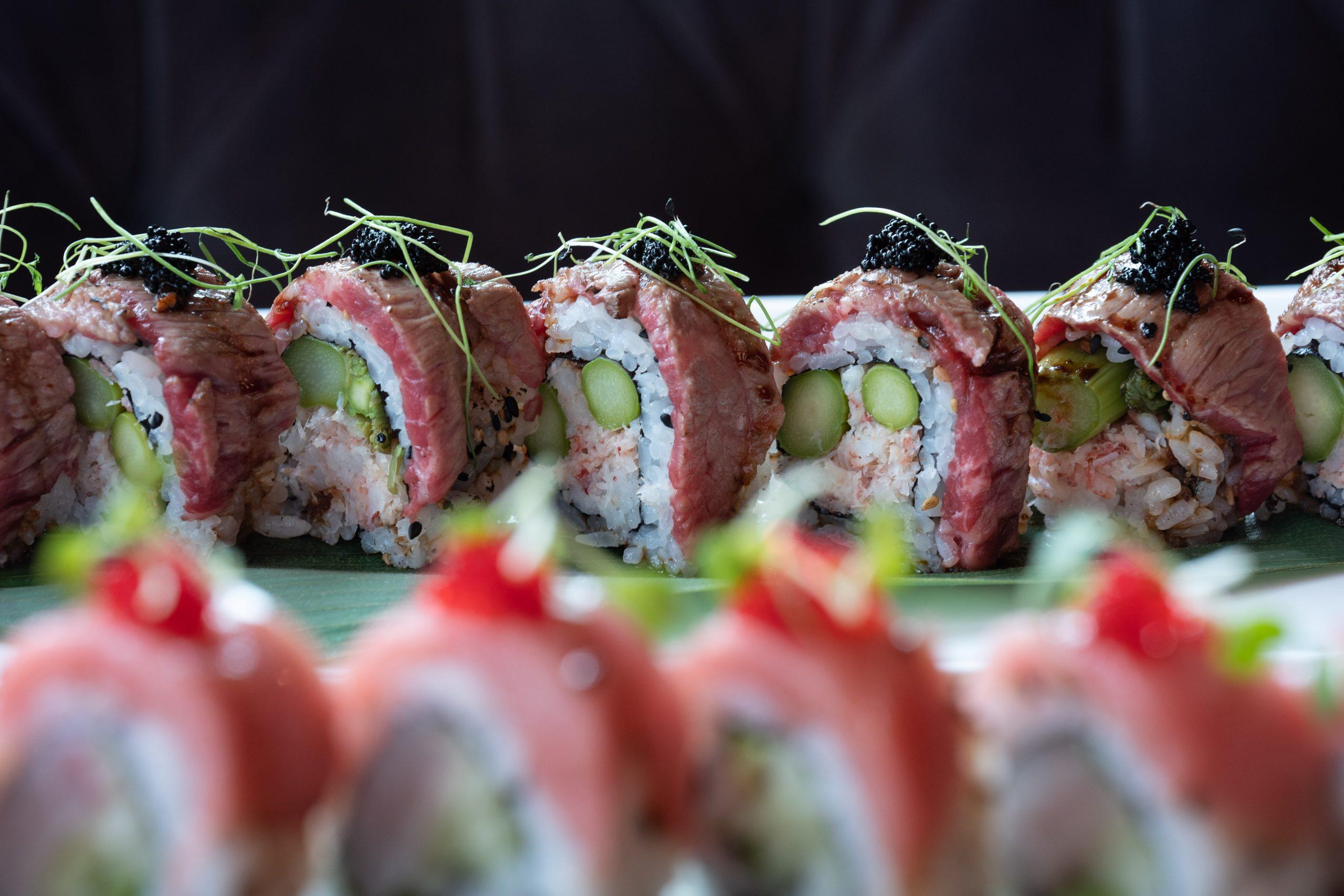 RED Seasonal Sushi Roll