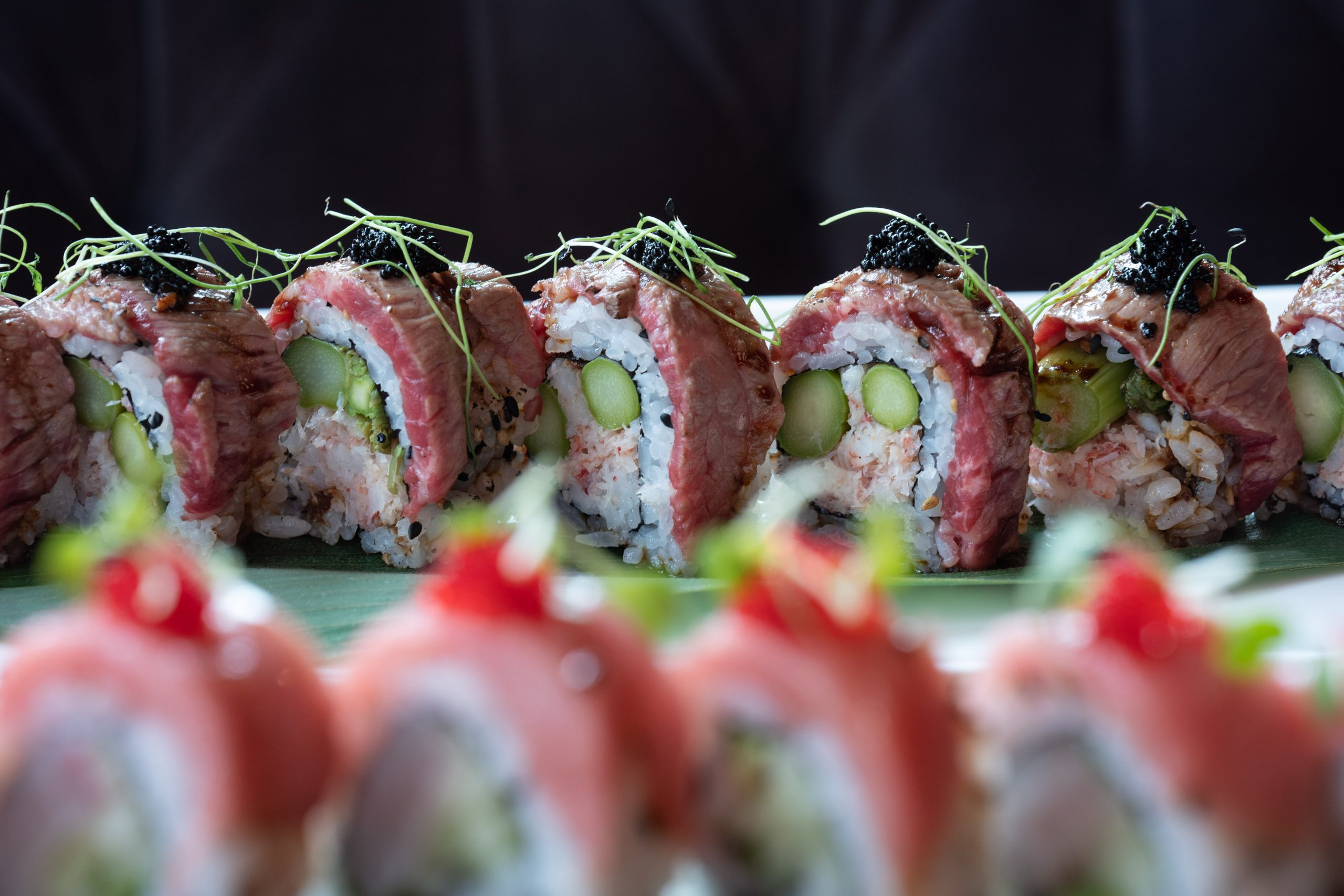 RED Seasonal Sushi Roll
